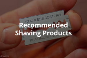 recommended shaving products
